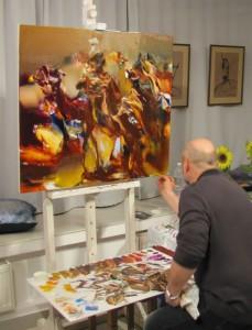 Художник Валерий Блохин представляет яркие краски востока