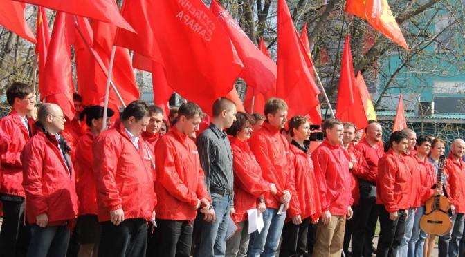 Митинг солидарности в Ульяновске.